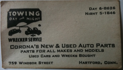 Towing Company  Sale on The Evolution Of Our Business Cards