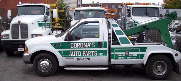 Coronas Auto Parts Towing